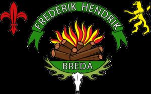 Het groepslogo van Scouting Frederik Hendrik