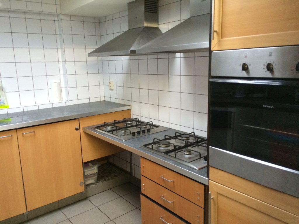 De rechterkant van de keuken