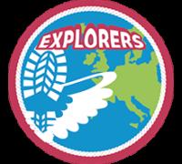 Het speltakteken van de Explorers
