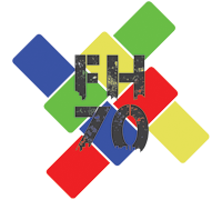 Jubileumlogo FH 70