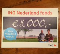 ING cheque