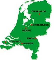 Een plattegrond met HIT-locaties