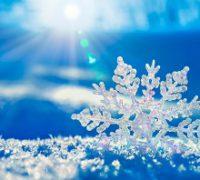 Een sneeuwvlok