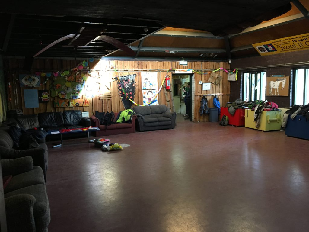 Welpenlokaal clubhuis Scouting Frederik Hendrik
