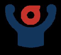 Het logo van de Grote Clubactie